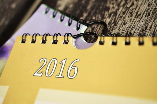Calendar, Date, 2016, Year, Time, Schedule, Forward