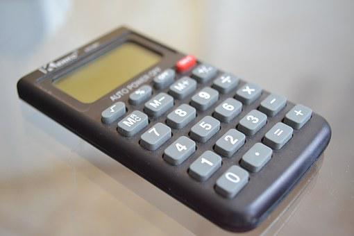 Calculator, Accounts, Mathematics, Object, Calculations