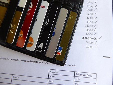 Credit Card, Bill, Bank, Statement, Money, Plastic