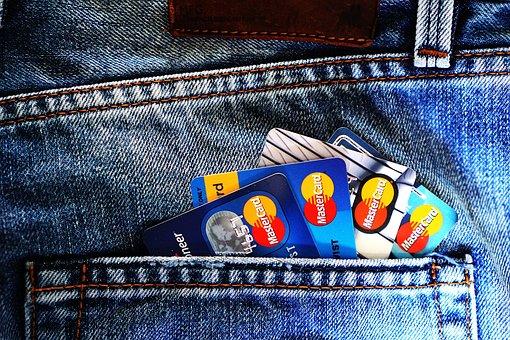 Credit Cards, Denim, Jeans, Blue Jeans, Debit Cards