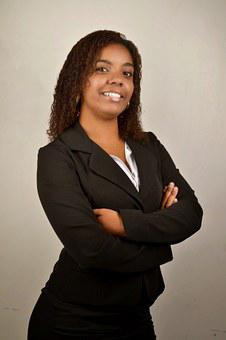 Woman, Black, Businesswoman, Young, Accounting, If The