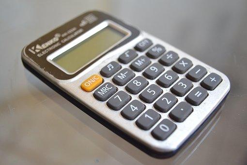 Calculator, Accounts, Mathematics, Object, Calculations