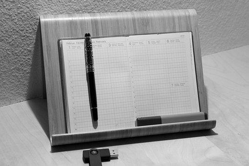 Calendar Support, Calendar, Schreiber, Marker