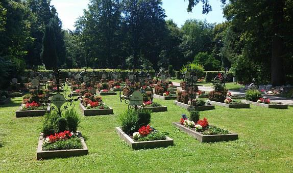 Cemetery, Monastery Cemetery, Resting Place For Nuns