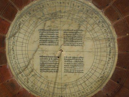 Calendar, Center Of Sundial, Rajasthan, Famous