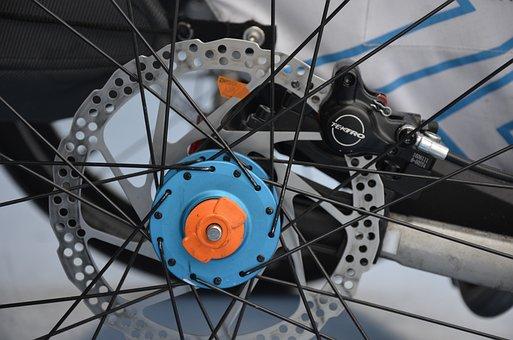 Disc Brake, Baby Carriage, Child Bike Trailer, Leggero