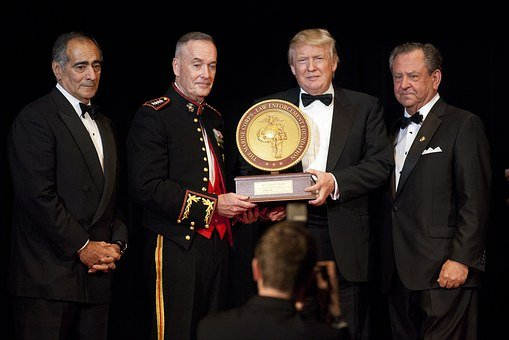 Donald Trump John, Marine Corps Foundation, Commandants