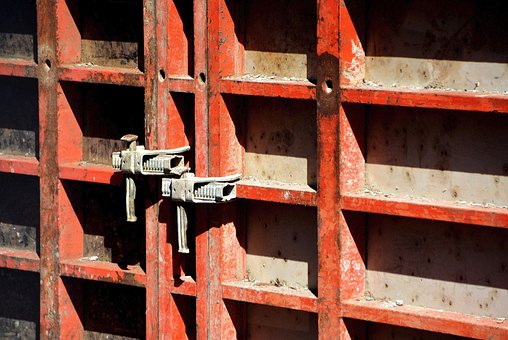 Formwork, Clamp, Site, Concrete Formwork, Construction