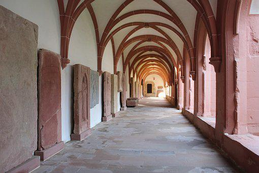 Monastery, Convent, Abbey, Eberbach, Germany, Religion