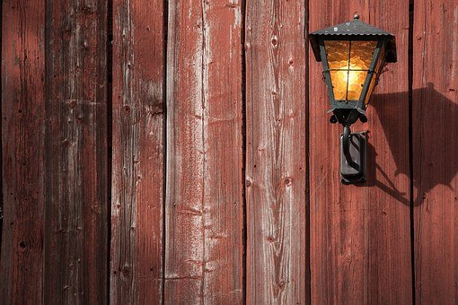 Texture, Lamp, Lantern, Wood, Closeup, Plank, Diagonal