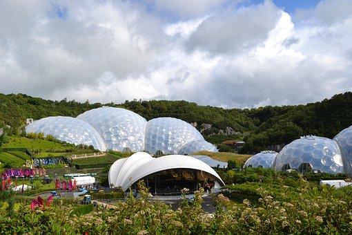Eden, Project, Biosphere, Cornwall, Environment
