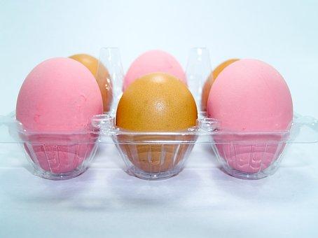 Egg, Pink, Market, Eggshell, Cholesterol, Meal