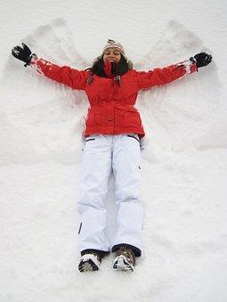Angel, Cold, Enjoying, Enjoyment, Female, Frozen, Fun