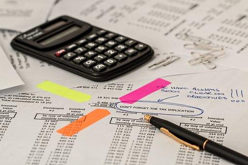 Calculator, Calculation, Insurance, Finance, Accounting