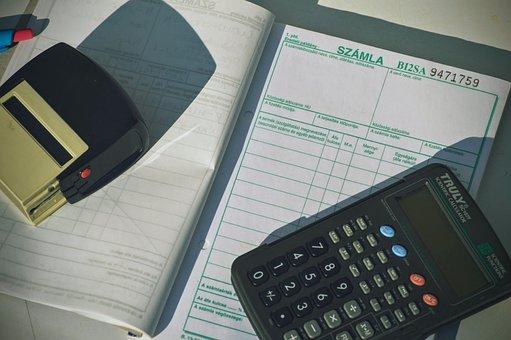 Calculator, Invoice, Finance, Business, Document