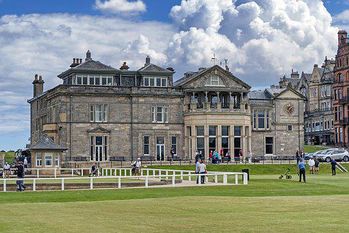 St Andrews, Old Course, Clubhouse, Golf, Golf Club
