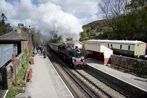 Steam Train, Transport, Locomotive, Transportation