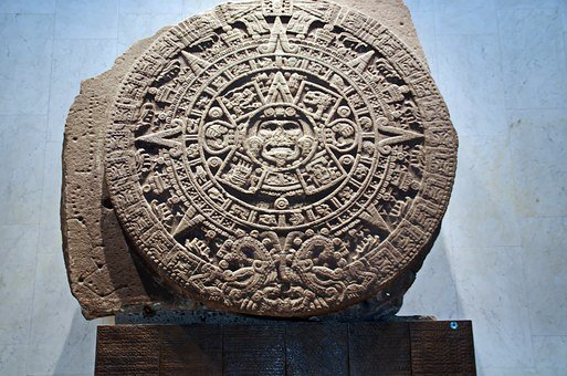 Mexico, Anthropological Museum, Mesoamerica, Disk