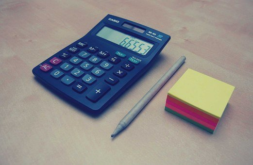 Calculator, Numbers, Accounting, Finance, Pen
