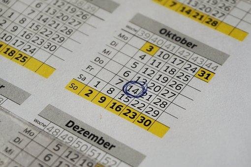 Calendar, Year Calendar, Office, Dates, Planning, Plan