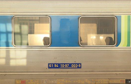 Portugal, Faro, Train, Transport, Carriage, Station