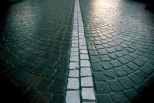 Road, Rain, Raining, Wet, Road System, Traffic