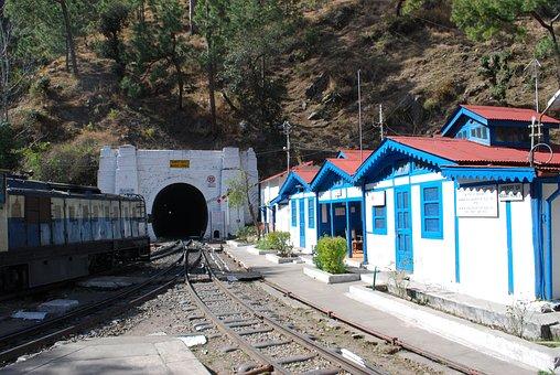 Kalka, Shimla, Himachal, India, Passenger, Railway