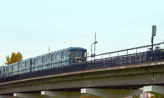 Metro, Metropolitan, Subway Train, Moscow Metro, Moscow