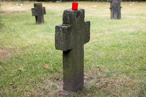 Cemetery, Tombstone, Cross, Old, Tomb, Death, Grave