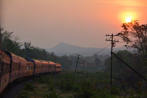 Train, Carriages, Railway, Transport, Transportation