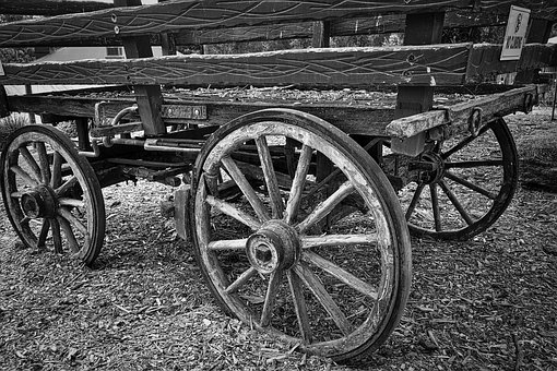 Wagon, Transportation, Vintage, Wooden, Transport