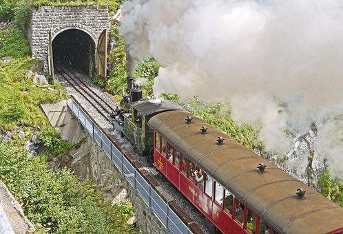 Steam Railway Furka - Bergstrecke, Tunnel, Gateway