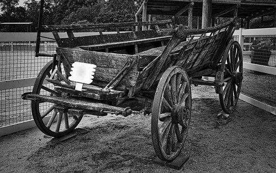 Wagon, Vintage, Wooden, Transport, Carriage