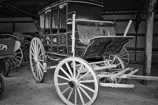Coach, Wagon, Vintage, Wooden, Transport, Carriage