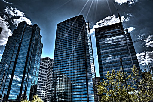 Calgary, City, Canada, Skyscraper, Alberta, Downtown