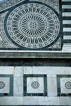 Facade, District, Square, Rosette, Italy, Architecture