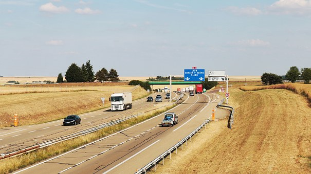 Highway, Communication Channel, Automobile, Transport