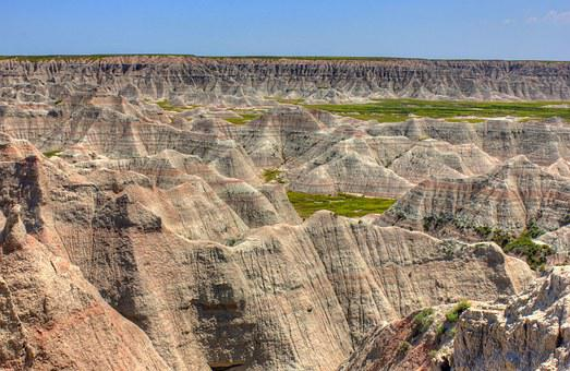 Rocky, Buttes, Formations, Nature, Outdoors, Badlands