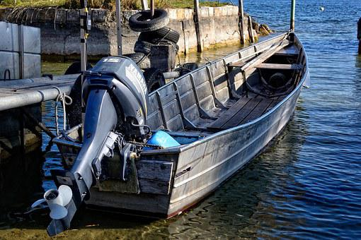Fishing Boat, Boot, Powerboat, Rowing Boat, Port, Pier