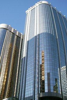 Calgary, Skyline, Skyscraper, Architecture, Canada