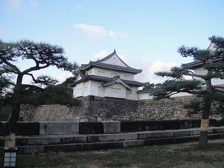Castle, Japan, Architecture, Nippon, Building