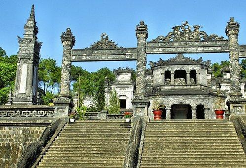 Viet Nam, Tomb, Funerary, Cenotaph