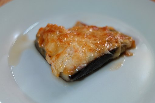 Eggplant, Before Dining, Food, Scalloped, Cheese, Eat