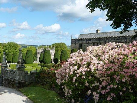 Cornwall, England, United Kingdom, Park, Garden