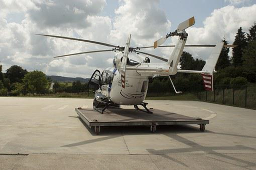 Helicopter, Relief, Base, Solidarity