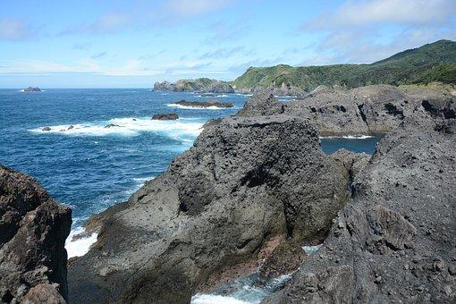 Izu, Coast, Rock