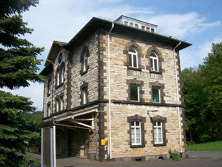 Railway Station, Station Building, Arzberg, Railway