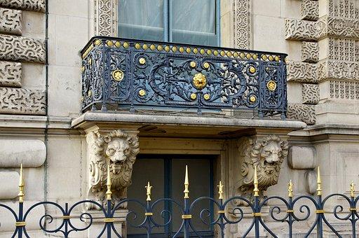Balcony, Renaissance, Revival, Paris, Building