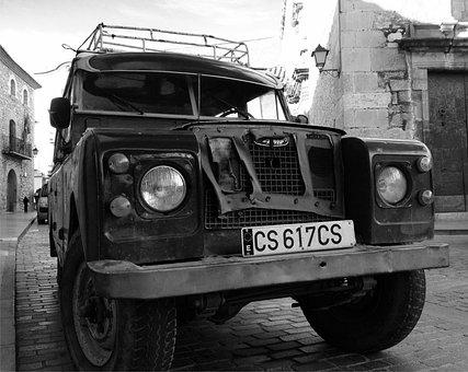 Car, Old, Land Rover, Travel, Antique Car, Cars