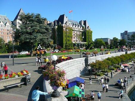 Victoria, City, British Columbia, Canada, Harbor